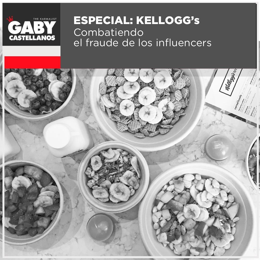 """El team de @kelloggs.uk (encabezado por Joseph Harper) en Europa esta combatiendo el fraude de los """"#Influencers"""" midiendo sus resultados de forma diferente a lo usual, y eso es lo que DEBEN hacer las marcas/empresas en este mundo de compra y venta de likes, de pods (grupos de whatsapp/telegram para likear/comentar) y de falsa influencia.? ? Algunas agencias durante este año, obtuvieron logros """"fraudulentos"""" y Kelllogg's decidio ser mucho mas exhaustivo a la hora de exigir resultados. ? Gracias a #Dior.? ? Uno de esos """"fraudes"""" fue que 1 de sus agencias llamo """"exito"""" a un post que genero muchos comentarios, pero cuando fueron evaluados se detecto que esos """"comentarios"""" no eran naturales y venian de grupos de Whatsapp donde se intercambiaban comentarios.? Tambien en esas metricas evaluadas y traceadas se encontro que mas del 12% de los followers que tenian estos """"Influencers"""", no eran Europeos, es decir, no eran parte del target como se habia vendido. ? ? Las marcas que se fien del supuesto """"reach/alcance"""" de un """"influencer"""" estan expuestas a ser timadas y es importantisimo que tambien evaluen el sentimiento ya que no es lo mismo una emocionalidad positiva que una negativa en un contenido y sus comentarios.? ? Las formas de medicion incluyen en el caso de verdaderos Influencers algunas de estas metricas:? – Tono de comunicacion? – Estilo de contenido? – Demografica del followers? – Engagement? – Emocionalidad (positiva o negativa)? ? ¿Y de que nos sirve esto, Gaby?? Para que no os cuelen gato por liebre.? Insisto, de que os sirve un """"Influencer"""" de muchos followers que vive en Londres, si vosotros teneis un restaurante en Mexico? Y viceversa. ? Llegara alguno a viajar, pero por que no buscar a alguien que de verdad tenga lo que necesitas, y trabajar con el, aunque no tenga miles o millones!? No os dejeis impresionar con esos numeros grandes, son como el sexo, dicen grande y luego no llega ni al medio.? ? Recuerden, el target es lo mas importante.? Una audiencia llena"""