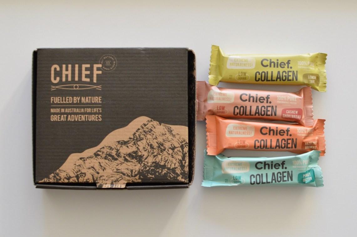 Chief collagen bars