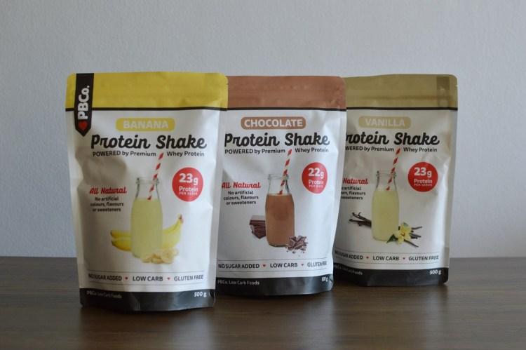 PBCo protein shakes