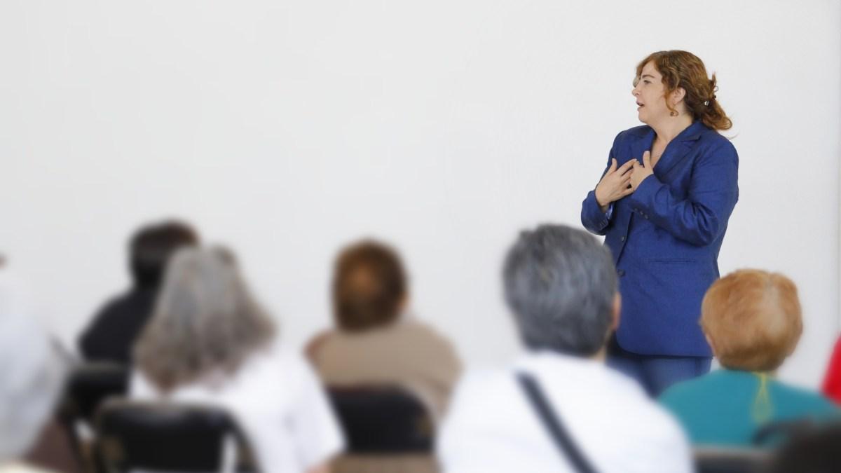 La Dip. Gabriela Salido se pronunció por el fortalecimiento de las políticas públicas a favor de los adultos mayores