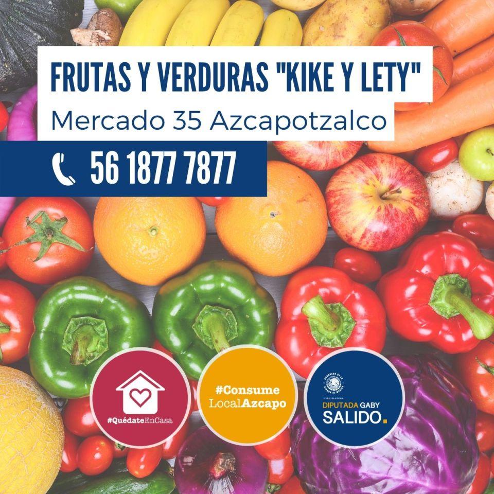 Frutas y verduras «kike y Lety»