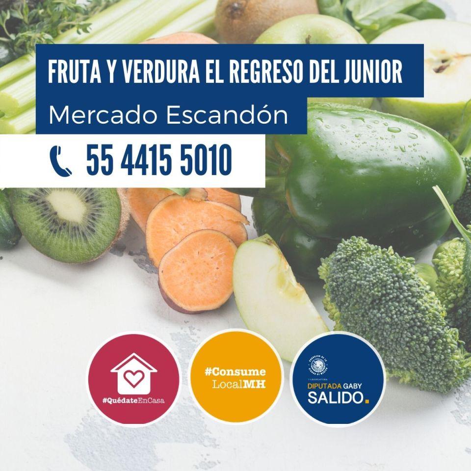 Fruta y verdura El Regreso del Junior