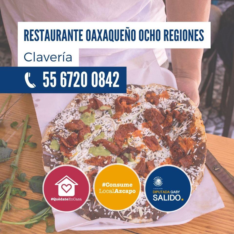 Restaurante oaxaqueño Ocho Regiones