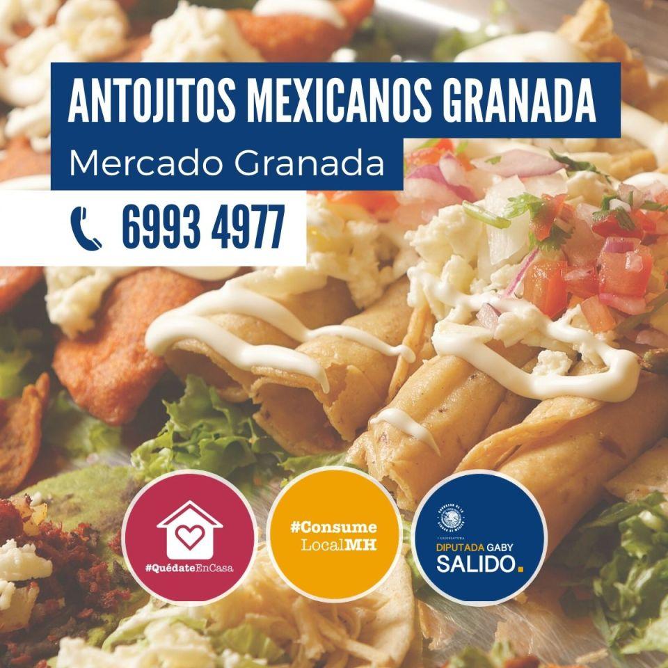 Antojitos mexicanos Granada