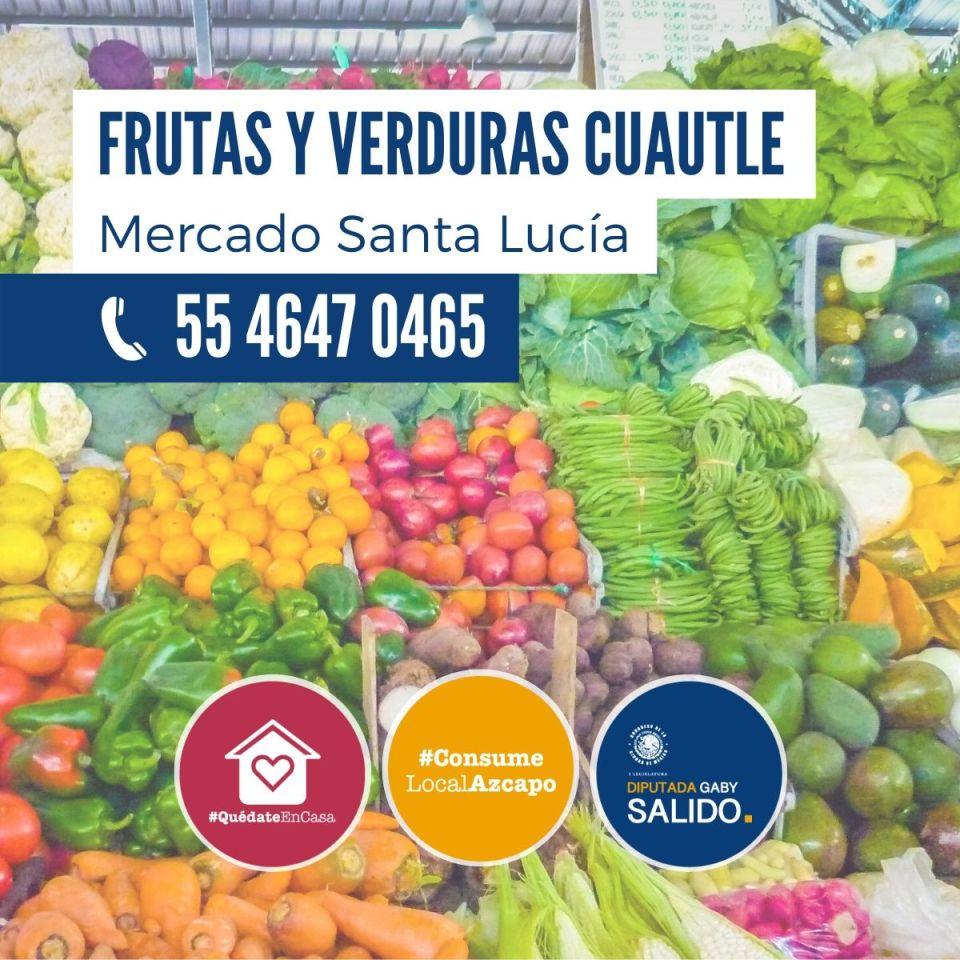 Frutas y verduras Cuautle