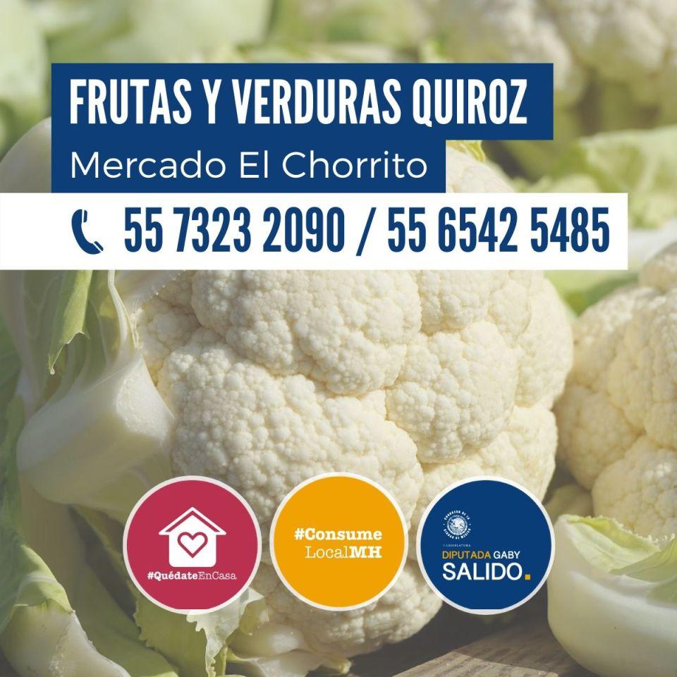 Frutas y verduras Quiroz