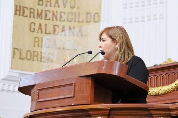 Demanda Dip. Gaby Salido información sobre la construcción de sucursales del Banco del Bienestar en la CDMX