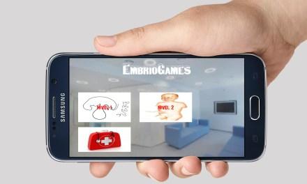 Embriogames, una app de realidad aumentada disponible para los alumnos