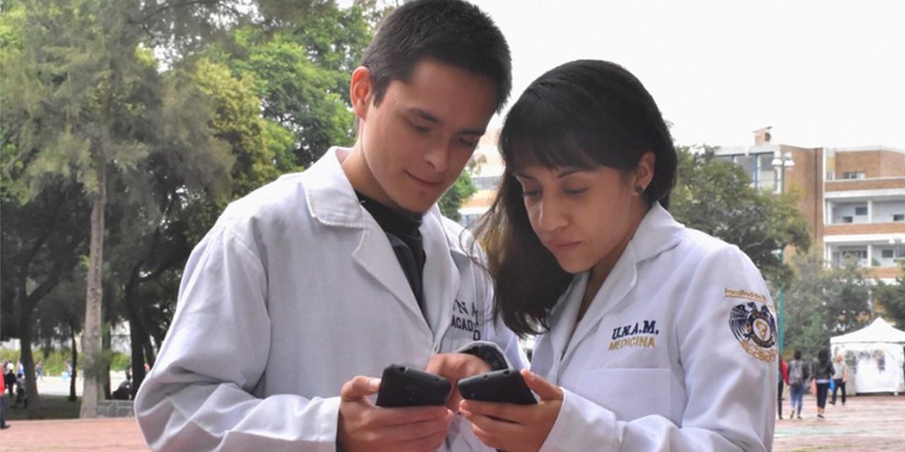 """La app """"SECIM"""" vincula  a los alumnos de sedes clínicas con la Facultad"""