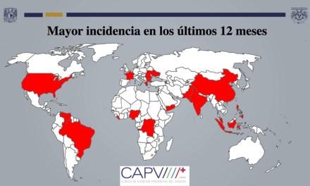 México, sin riesgo de epidemia por sarampión