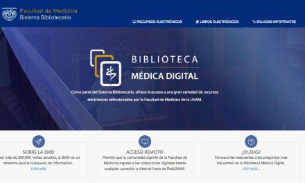 ¿Ya conoces el nuevo sitio de la Biblioteca Médica Digital?