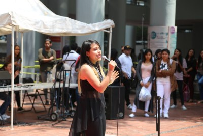 Lucero Martínez Casas en Torneo de canto 2018