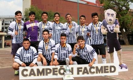 Monterrey se corona bicampeón  en Torneo Interno de Futbol