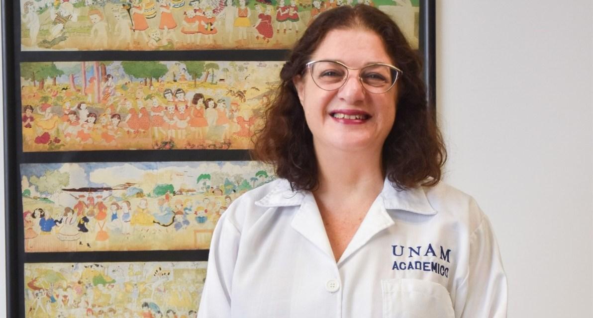 Liz Hamui ingresa a la Academia Nacional de Medicina