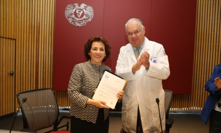 La doctora Margarita Cabrera, nueva jefa del Departamento de  Microbiología y Parasitología