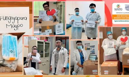 Donativo de 9 mil kits para proteger a médicos pasantes de 175 comunidades marginadas