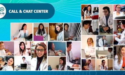 Médicos han atendido cerca de mil 200 llamadas y 700 chats