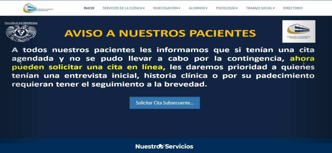 Informática Biomédica diseña sistemas de atención en línea durante la pandemia