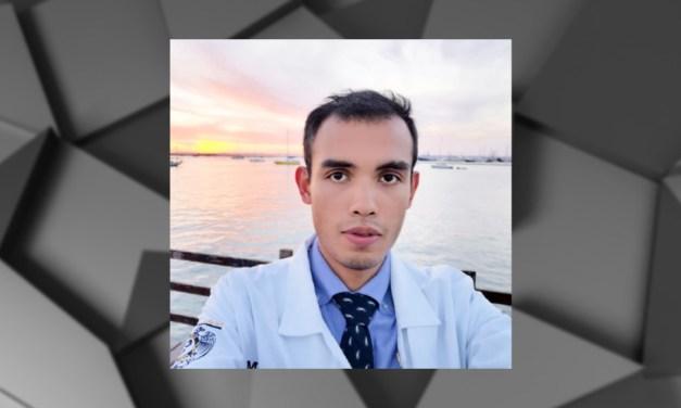 Victor Rubio, médico pasante y mención honorífica en el Taller virtual de Periodismo Científico