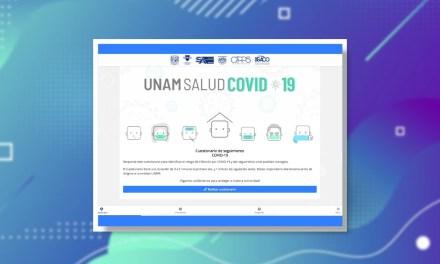Desarrollan la app UNAMsaludCOVID19 para prevenir contagios en la comunidad universitaria