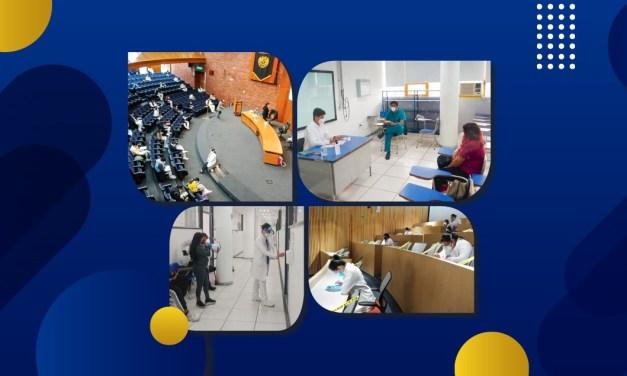 La Facultad de Medicina aplica el Examen Profesional Médico 2021-2