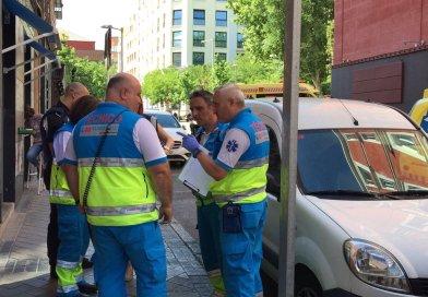 Nueve personas heridas, una de ellas muy grave, tras una explosión en un restaurante de la calle Santa Teresa (Centro)