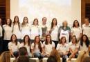 Manuela Carmena recibe a las campeonas de hockey del Club de Campo Villa de Madrid