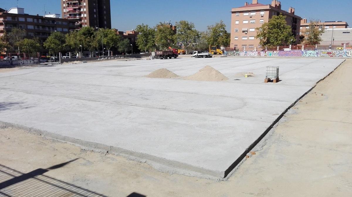 """El nuevo """"Espacio Multiusos de Vallecas"""" estará listo para diciembre, con 250 plazas de aparcamiento"""