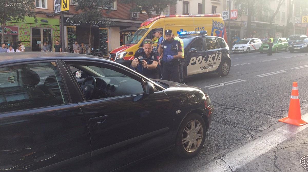 Una mujer de 83 años herida muy grave tras ser atropellada en el Paseo de Extremadura