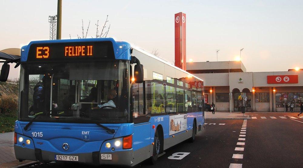 La EMT de Madrid aumentará esta semana el servicio en las líneas 116, 151, E3 y E4