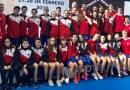 Madrid finaliza segunda en el Campeonato de España Junior e Infantil de natación por Federaciones