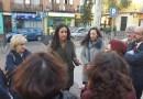 """Villacís reclama a Carmena en Puente de Vallecas """"un compromiso firme y real de lucha contra la okupación"""""""