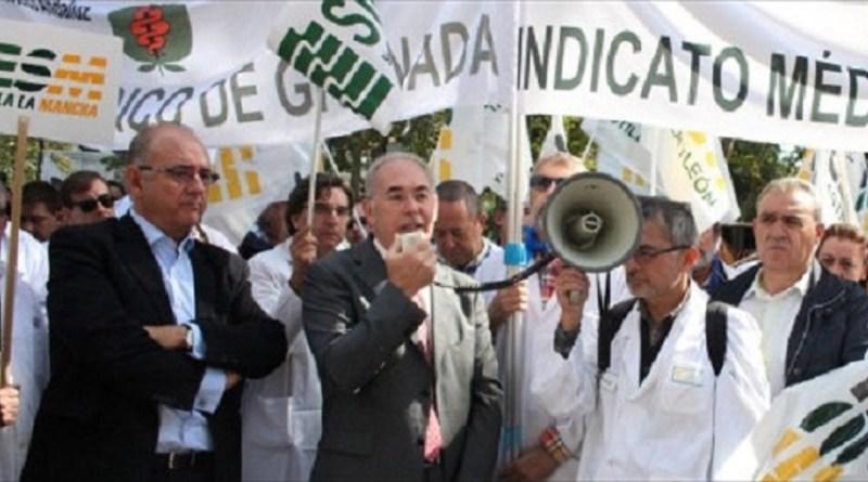 Entre el 50% y el 70% de los médicos de la sanidad pública madrileña secunda la huelga