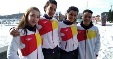 Gran papel de los madrileños en el 8 Naciones Junior de saltos, con Valeria Antolino bronce