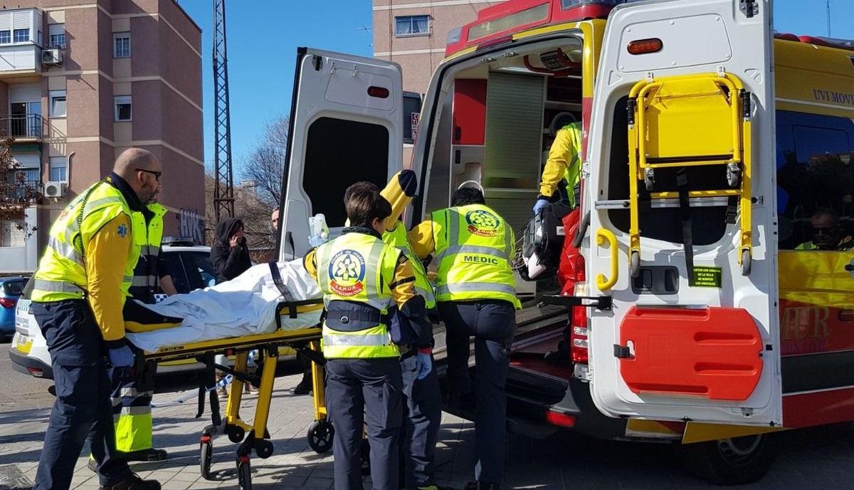Tres heridos, uno de ellos grave, al quemarse con una barbacoa en Hortaleza