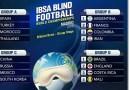 España se enfrentará a Turquía, Marruecos y Tailandia en el Mundial de Fútbol para Ciegos Madrid 2018