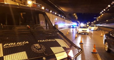 Dos policías municipales heridos tras un atraco a una perfumería en Barajas