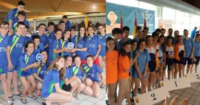 El CD El Valle y el CD Gredos San Diego se alzan con la Copa de Madrid de Clubes Alevín de natación