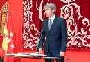Ángel Garrido toma posesión como nuevo presidente de la Comunidad de Madrid