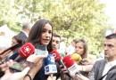 """Begoña Villacís reclama """"respeto y unas condiciones laborales dignas"""" para la Policía Municipal de Madrid"""