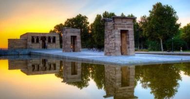 Yoann Bourgeois: 8 minutos de suspensión este sábado en el mirador del Templo de Debod