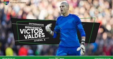 El exportero del Barça y de la Selección Española, Victor Valdés, entrenará en la EDM Moratalaz