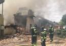 Un incendio calcina varias chabolas y naves en el Sector 4 de la Cañada Real (Vicálvaro)