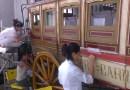 La ESCRBC restaura un ómnibus de 1861 en el Museo del Ferrocarril de Madrid