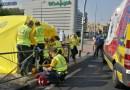 Un viandante consigue sacar de la parada cardiorrespiratoria a un ciclista de 52 años en Hortaleza
