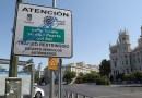 Comienza la sustitución de la señalización de 'Madrid Central' por 'Distrito Centro', con un gasto de 185.000 euros