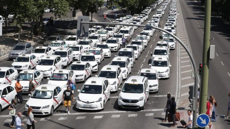 Vota: ¿Estás de acuerdo con la huelga de los taxistas?