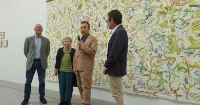 El Botánico de Madrid expone los bordados de la madre de Miquel Barceló basados en sus dibujos