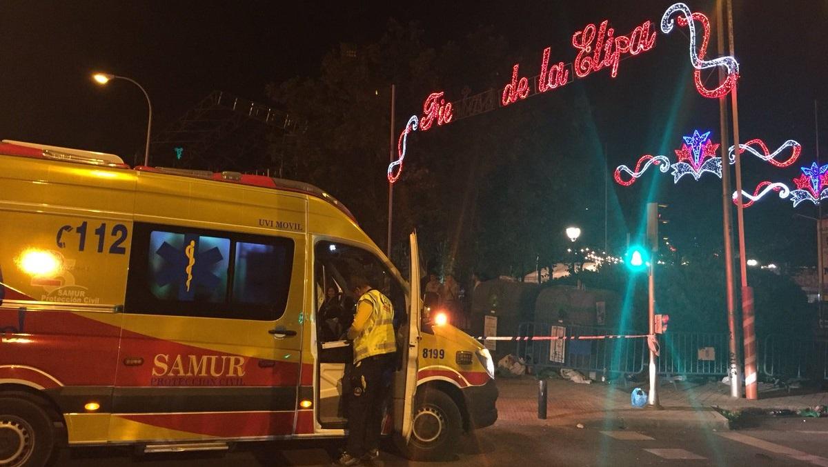 Un joven de 20 años en estado crítico tras ser apuñalado en las fiestas de La Elipa