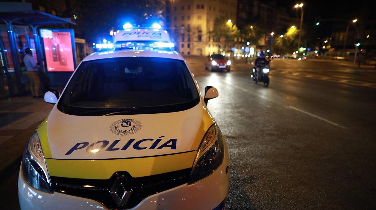 Un joven de 20 años detenido tras una persecución a toda velocidad por Carabanchel y Usera